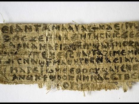 Nel corso di un convegno a Roma una storica della cristianità antica alla Harvard Divinity School  ha presentato un frammento di papiro in copto nel quarto secoloche conterrebbe una […]