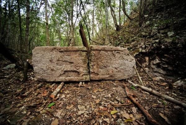 scoperta città maya