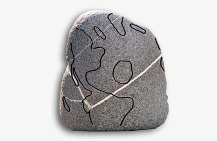 cartina di pietra