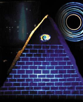 piramide di luce