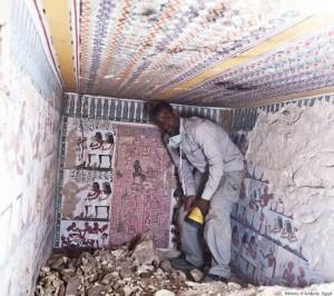 Luxor, rivelati i dipinti della tomba di un nobile dell'Antico Egitto