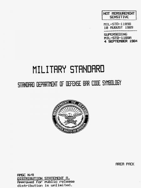 MILITARY STANDARD